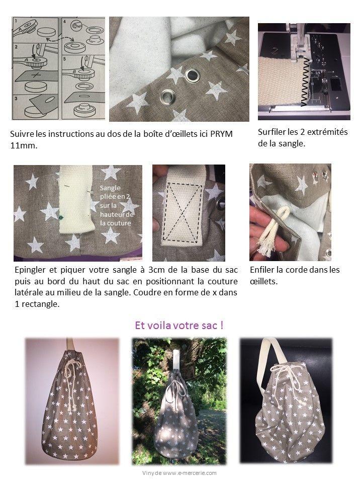 Sac Marin  #tuto #couture #diy #emercerie