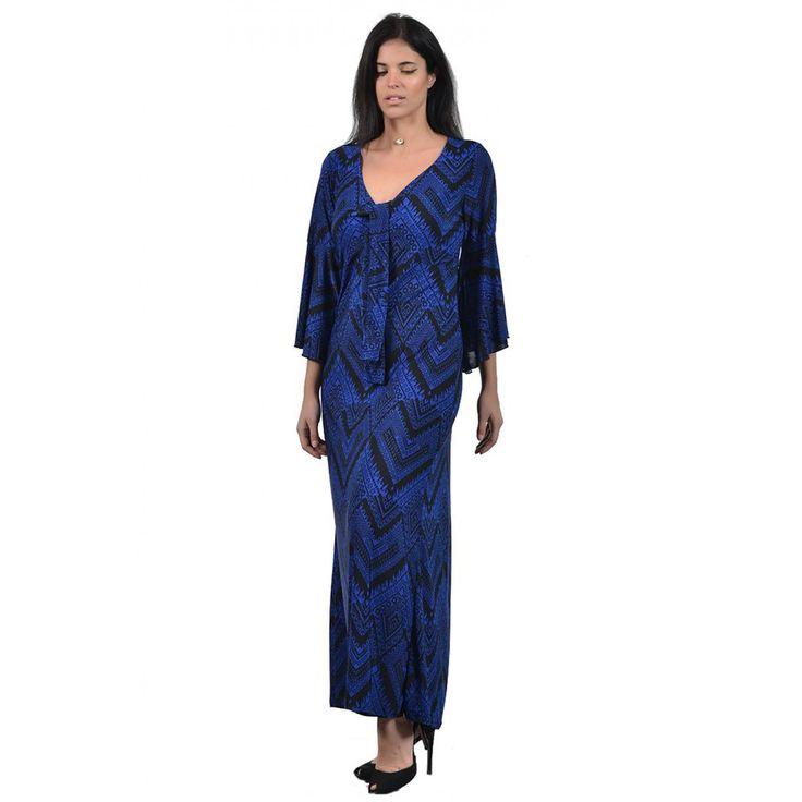 Φόρεμα Maxi Εμπριμέ Boho (5927)