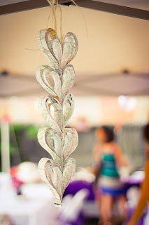 Mami-Eggroll, Travel themed bridal shower, travel themed wedding, heart shape decorations, map, global, destination