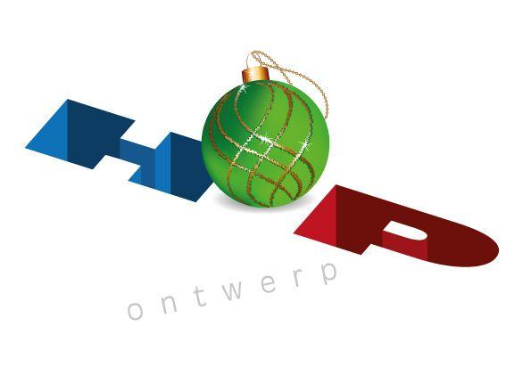 Hopontwerp logo Kerst