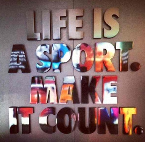 Make it Count ~ Nike