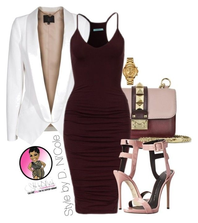 """""""Untitled #2613"""" by stylebydnicole ❤ liked on Polyvore featuring Versus, SLY 010, Valentino and Giuseppe Zanotti"""
