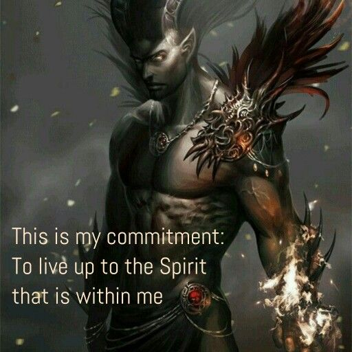Dark Warrior. Fantasy