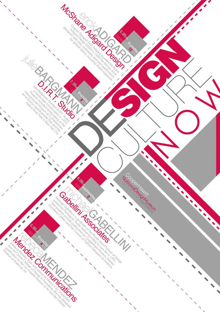 Typography Poster Design Inspiration Typography