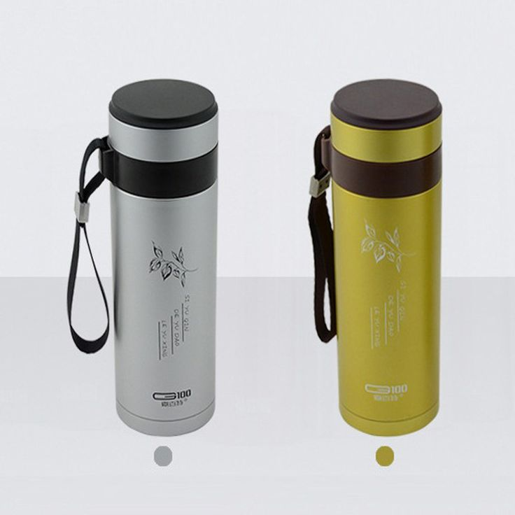 Safety Material Ecology Cup Double Layer Stainless Steel Insulation Cup Male Female Cup Vacuum Straight Cup