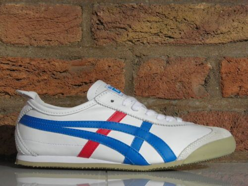 ASICS MEXICO 66 HL202 0146 ONITSUKA TIGER Leder Sneaker Running Streetwear | eBay