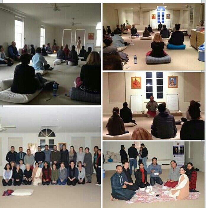 "Workshop on ""Learn the Art of Meditation"" by Yogacharini Komal Ph.D Scholar , 12 July 2015 at Indu Yoga Sanctuary Mt. Barker, Adelaide,  SA"