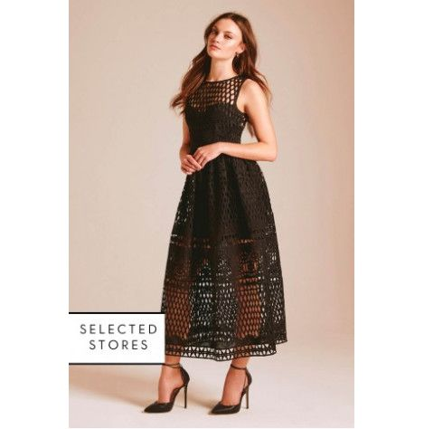 Photo of Amelia Lace Dress In Black