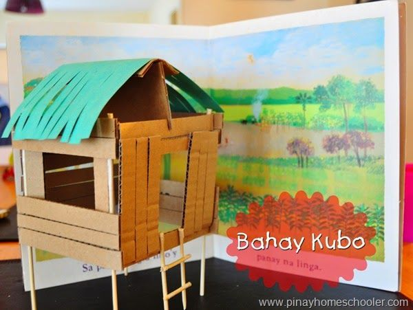 Bahay Kubo... stilt house in the Philippines