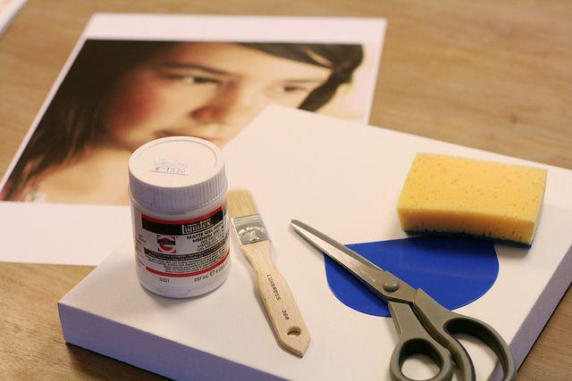 foto op canvas, stof of iets anders. geweldig, moet ik eens proberen liquitex te koop bij Lucas