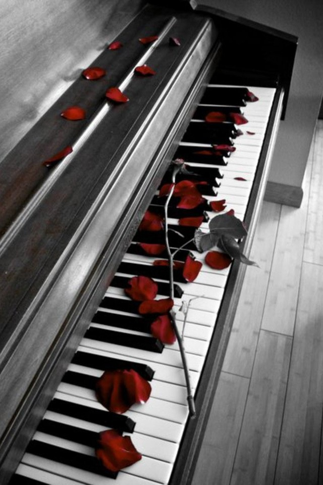 The love of music..