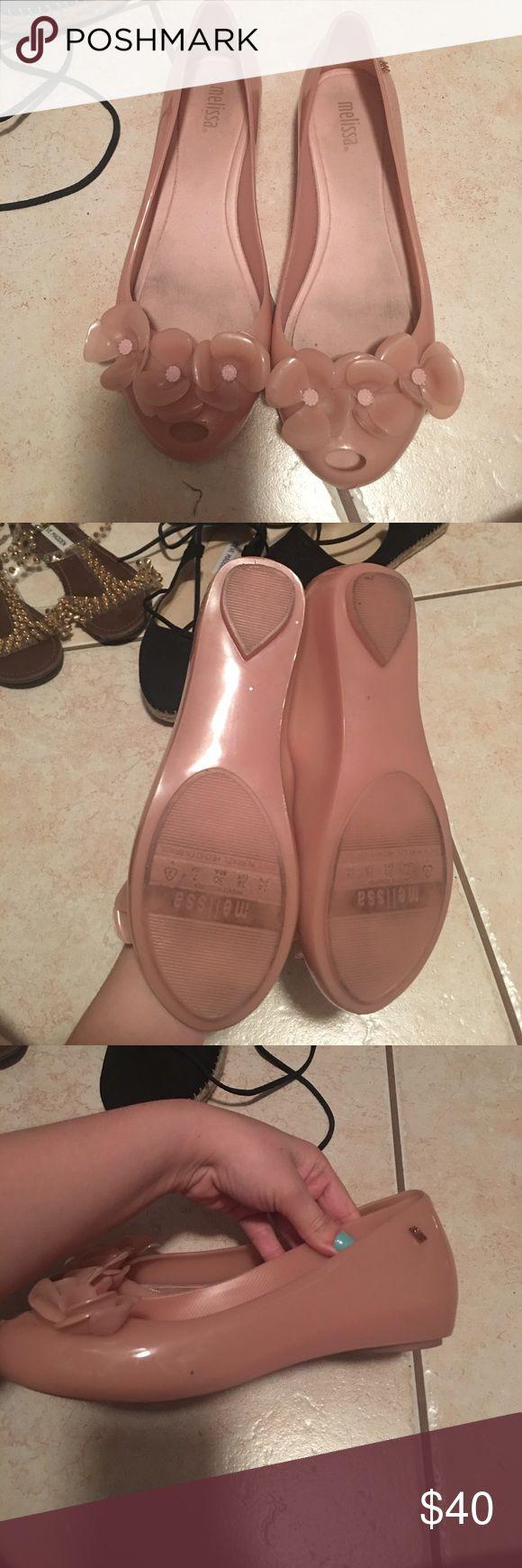 Melissa flats Super comfy ! Good conditions ! Melissa Shoes Flats & Loafers