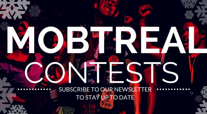 We have a lot of contests going on this holiday season. Enter today! http://mobtreal.com/contests