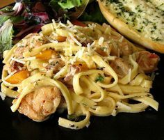Рецепт-Макарон с курицей и соусом альфредо | Блюда из птицы