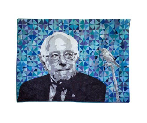 Bernie by Luke Haynes. Available through Seattle Art Source