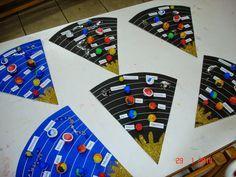 Space           Κάρτες διπλές.   Λειτούργησαν ως πρόσκληση για την καλοκαιρινή μας γιορτή. Πάνω στο σύρμα πίπας αιωρείται ένας αστροναύτ...