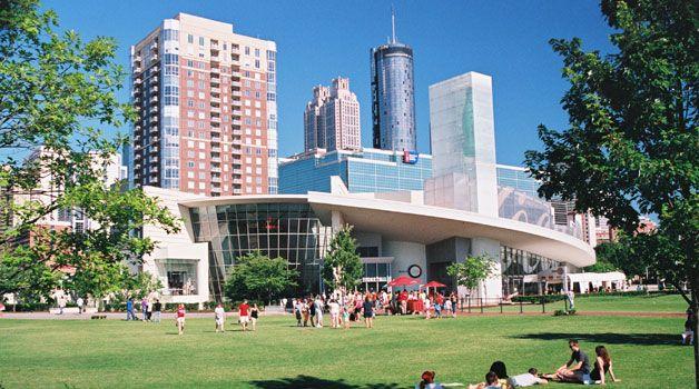 Recorra Atlanta en transporte público