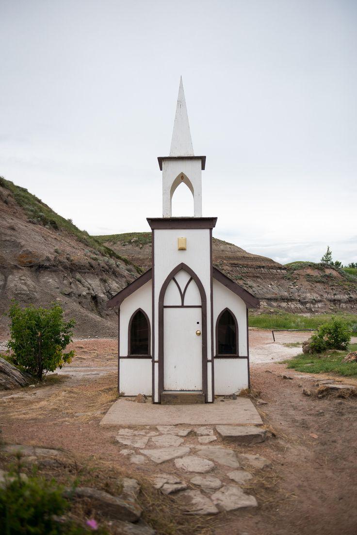 """The Little Church, Drumheller, Alberta, Canada."" by Flash Parker on Flickr - The Little Church, Drumheller, Alberta, Canada"