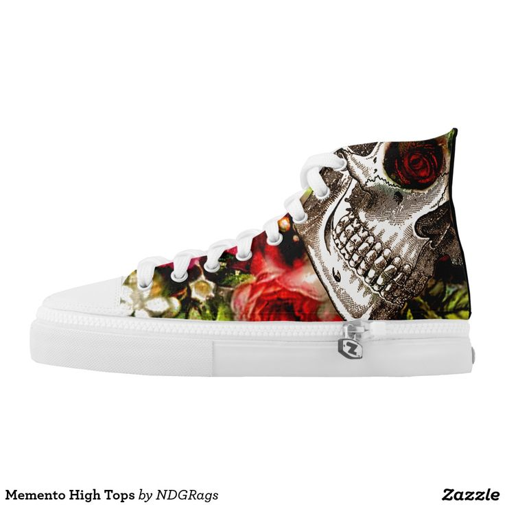 Memento High Tops Printed Shoes by NDGRAgs