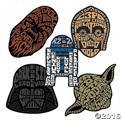 Star Wars™ Shaped Stickers