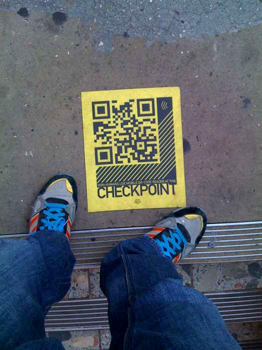 QR Code checkpoint