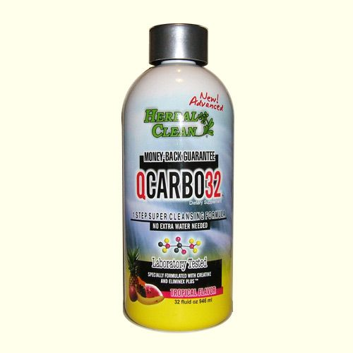 Pass Your Urine Drug Test With QCARBO 32 Tropical Flavor Detox Drink