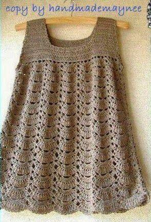 17 migliori ... Adult Crochet Dress Pattern