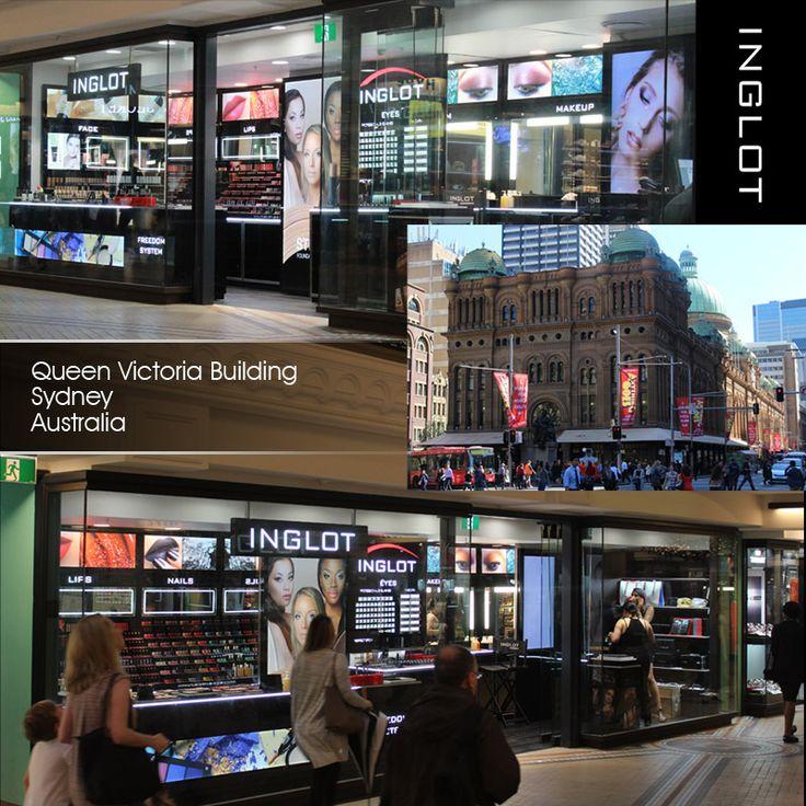 QVB Queen Victoria Building, Sydney #inglotworldwide