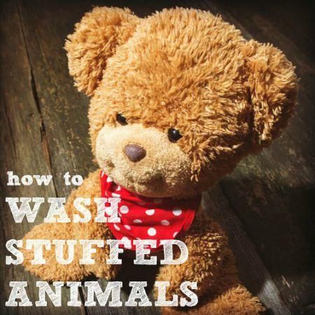 can you wash stuffed animals in the washing machine
