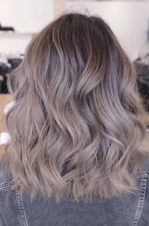 Are You Searching For Trendy Hair Color Here Is Your Desired Hair Color For This Trend So Why Late Then Gra Ash Hair Color Brown Hair Shades Ash Brown Hair