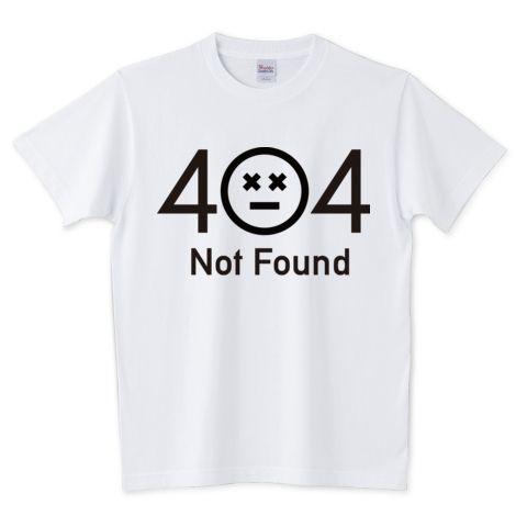 404-4 | デザインTシャツ通販 T-SHIRTS TRINITY(Tシャツトリニティ)