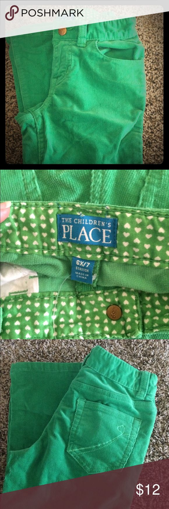 Kelly green corduroy pants. Kelly green corduroy pants. Excellent condition. Children's Place Bottoms Casual