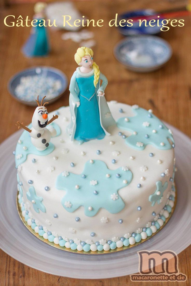 19 Best Gateau Reine Des Neiges Images On Pinterest