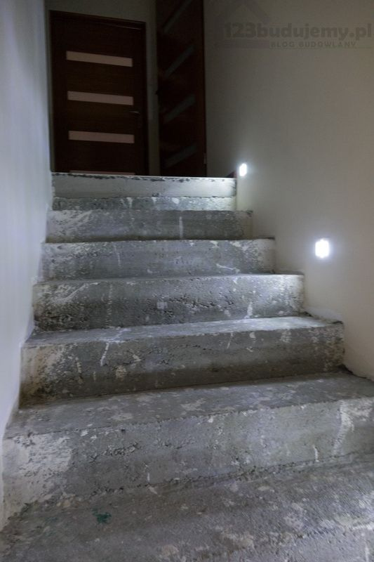 oprawa schodowa led do puszki nowoczesne oświetlenie stopnic schodów - Schody, #Klatka Schodowa, Parter, Poddasze, Schody Zabiegowe, Schody Betonowe, #Schody Drewniane, Wyspa, Rurka, Filar, Deska, Lada #led #oswietlenie #ledlights