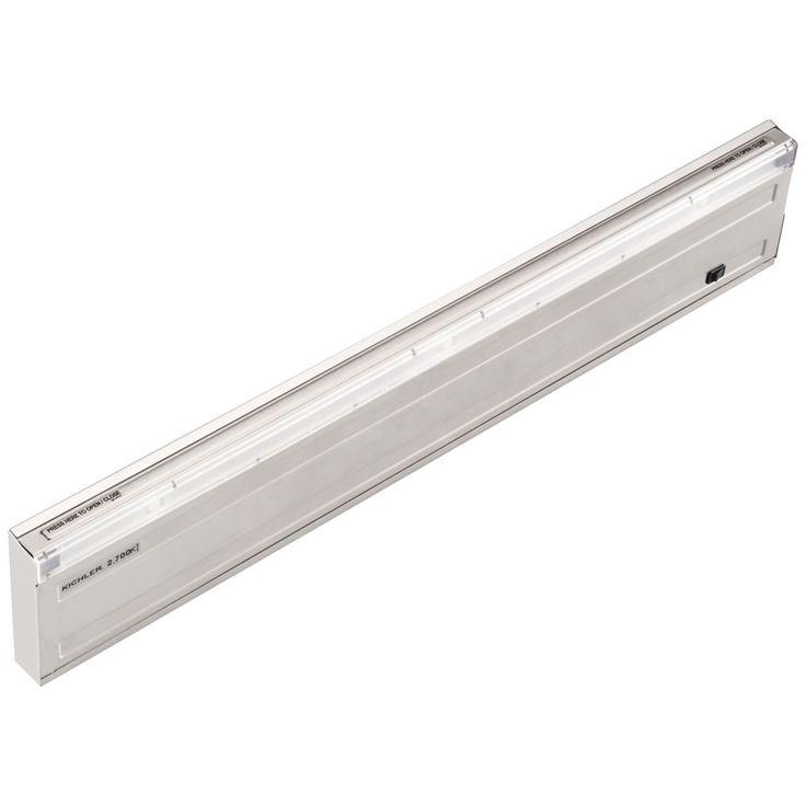 """Design Pro Steel 22 3/4"""" Linkable LED Under Cabinet Light - Style # 6N094"""