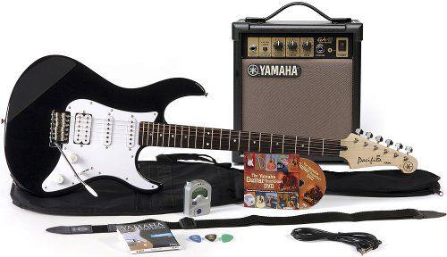 Yamaha Gigmaker Electric Guitar Package, Black http://pinterest.com/pin/164240717630430310/