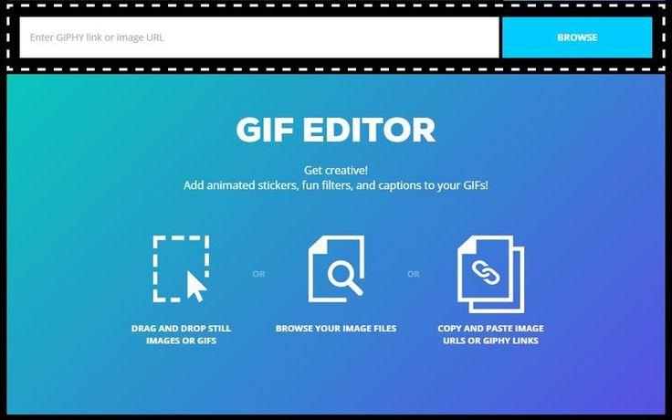 GIF Editor es una nueva herramienta web, lanzada por Giphy, para editar animaciones GIF. Podemos añadirles texto, stickers y originales efectos.