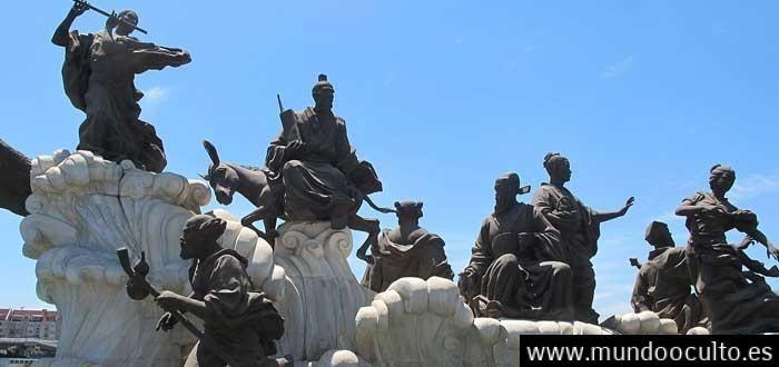 Los 8 INMORTALES de la mitología china. Conócelos!