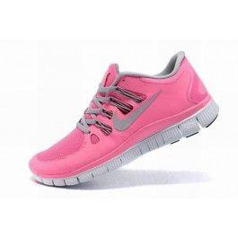 Nike Free 5.0+ Damesko Lysrosa Hvit | Nike sko tilbud | billige Nike sko på nett | Nike sko nettbutikk norge | ovostore.com