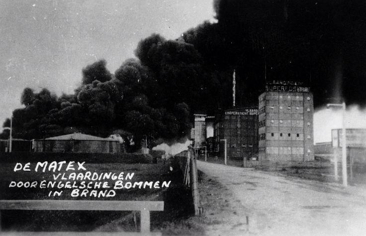 Bommen op de Matex 1940