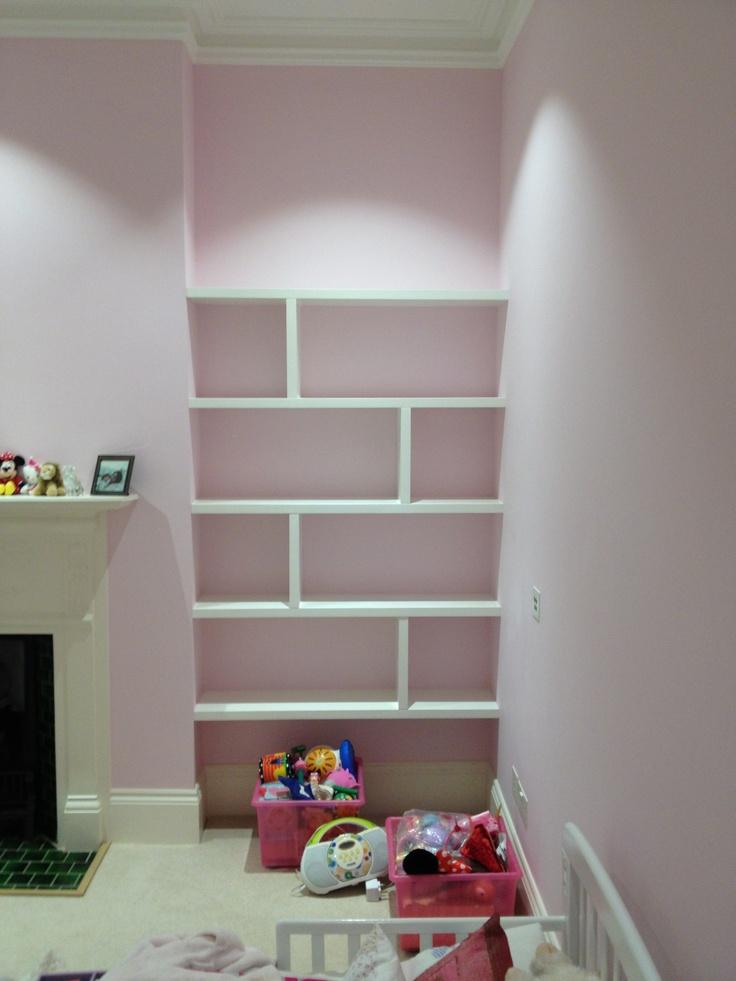 alcove shelving shelving ideas pinterest shelving. Black Bedroom Furniture Sets. Home Design Ideas