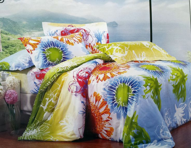 Colorful Bedding Set !