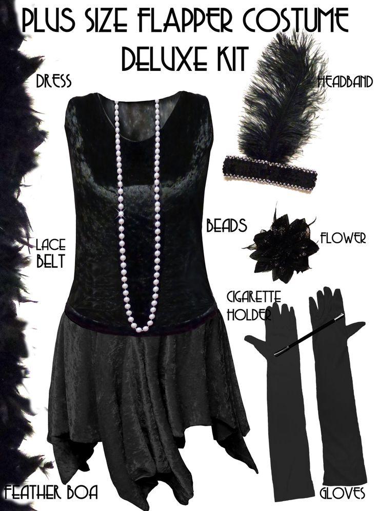 Top 25+ best Plus size flapper costume ideas on Pinterest | Plus ...