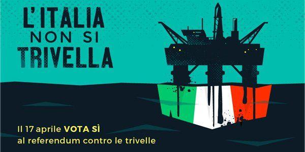 Il 17 aprile gli italiani sono convocati alle urne per un referendum abrogativo: il motivo?