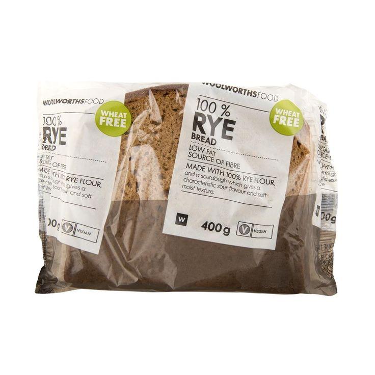 100% Rye Bread 400g