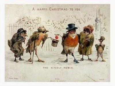 Trilby Busch's Blog - Creepy Christmas Cards: Bizarro Victorian Holiday Greetings - December 18, 2014 09:29