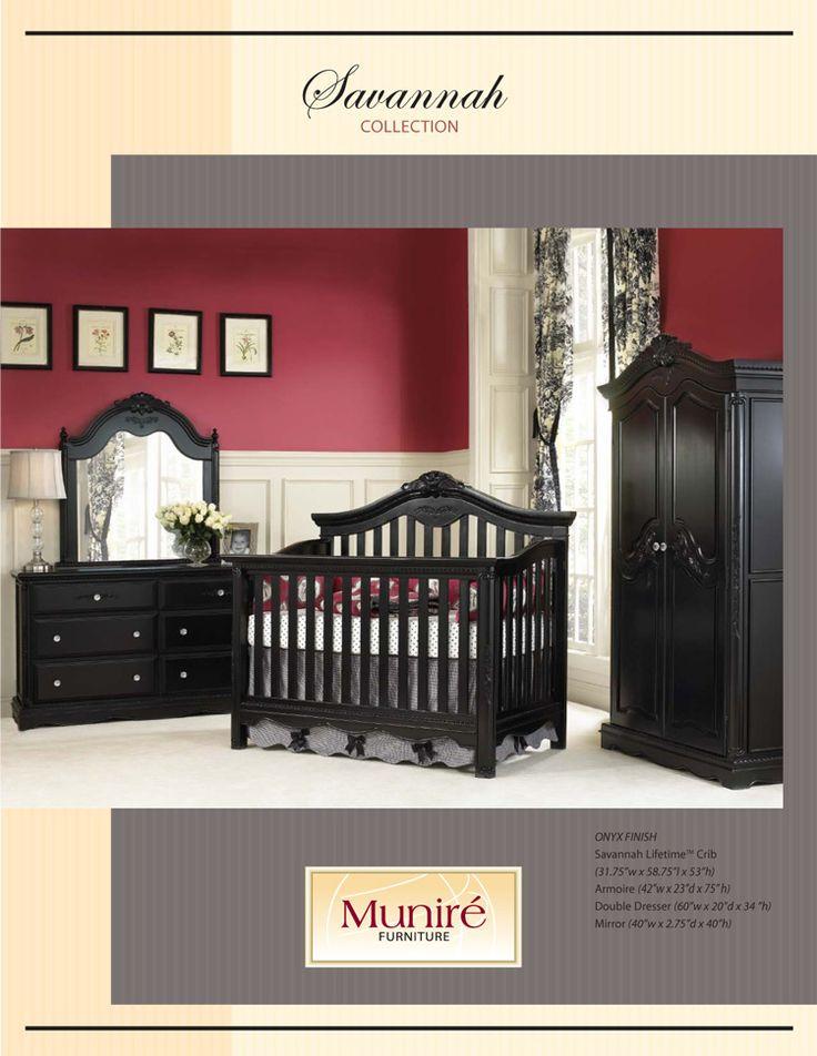 black nursery furniture | Nursery Ideas | Pinterest
