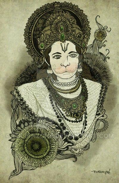 Character Design Hanuman : Best images about sri sunderkand spiritual