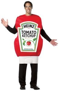 Ooooo, I need to upgrade my generic ketchup costume to this HEINZ ketchup bottle!!