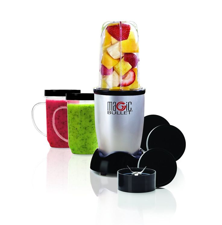 Buy Nutri Bullet Blender Magic Bullet 11-Piece MBR-1101 Introducing the MBR-1101 The Magic Bullet is an entirely new concept in labor-saving devices. Unlike bulky blenders and unwieldy food processors